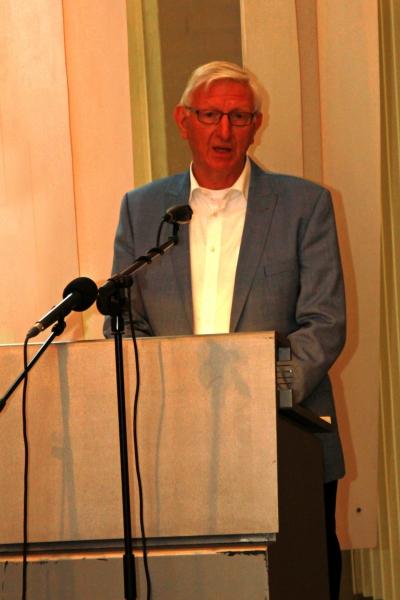 Voorzitter Jozef van den Corput