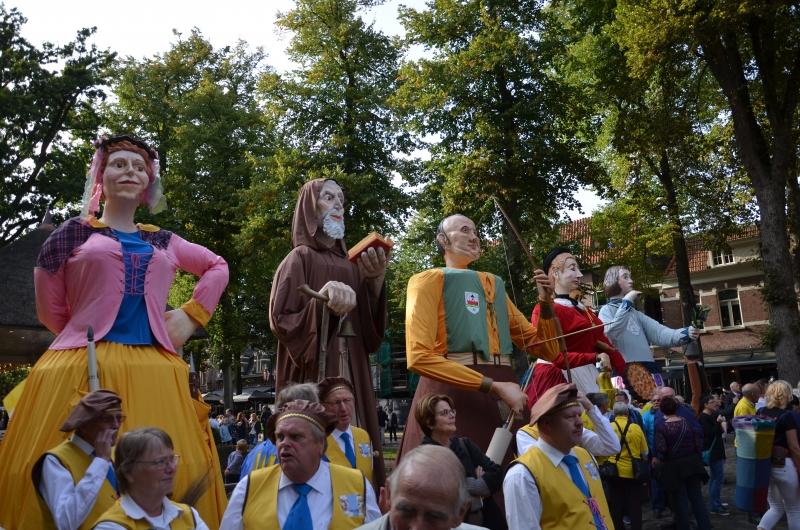 Voor het eerst op stap in Oisterwijk
